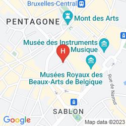 Mapa 9HOTEL SABLON