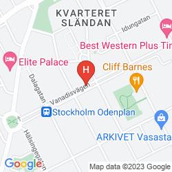 Mapa BEST WESTERN PLUS TIME HOTEL - STOCKHOLM
