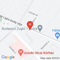Mapa ZUGLO