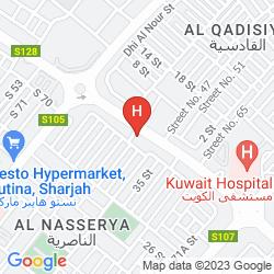 Mapa SHARJAH PREMIERE HOTEL & RESORT