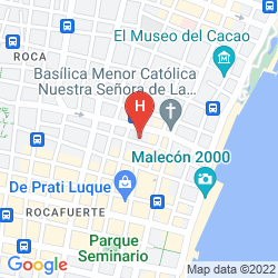 Mapa LA FONTANA HOTEL