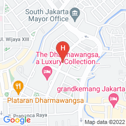 Mapa THE DHARMAWANGSA