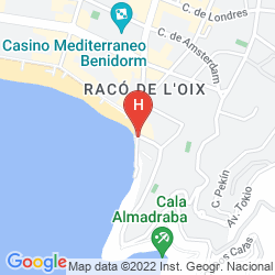 Mapa APARTAMENTOS DON MIGUEL I