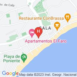 Mapa APARTAMENTOS EL FARO
