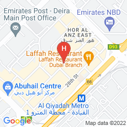 Mapa AL MANAR HOTEL APARTMENT