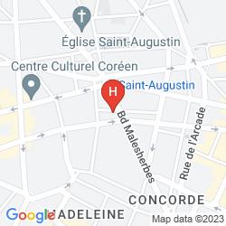 Mapa LE LAVOISIER