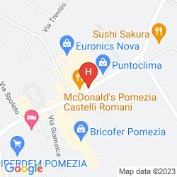 Mapa MEDITUR HOTEL POMEZIA