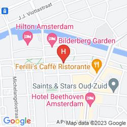 Mapa HILTON AMSTERDAM