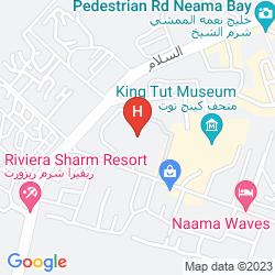 Mapa SHARM CLIFF RESORT