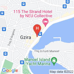 Mapa BAYVIEW HOTEL & APARTMENTS