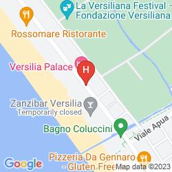 Mapa VERSILIA PALACE