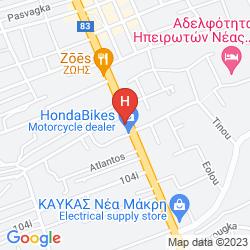 Mapa MYRTO