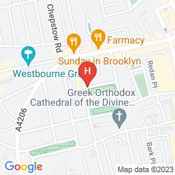 Mapa NEW LINDEN