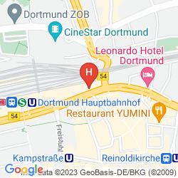 Mapa NH DORTMUND
