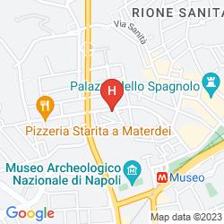 Mapa LE STANZE DEL VICERE'