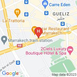 Mapa KENZI ROSE GARDEN