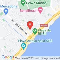 Mapa BALMORAL