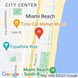 Mapa ROYAL PALM SOUTH BEACH MIAMI, A TRIBUTE PORTFOLIO RESORT