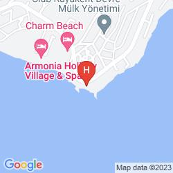 Mapa CLUB ACACIA