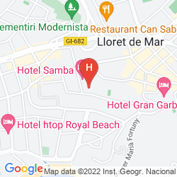 Mapa APARTHOTEL GUITART CENTRAL PARK RESORT & SPA