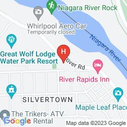 Mapa GREAT WOLF LODGE