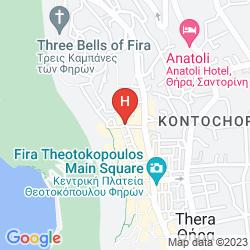 Mapa KALISTI HOTEL & SUITES
