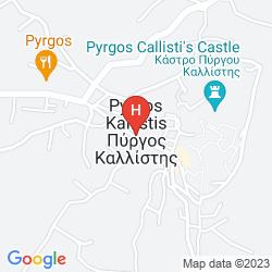 Mapa ZORBAS SANTORINI