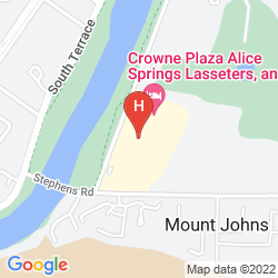 Mapa CROWNE PLAZA ALICE SPRINGS LASSETERS