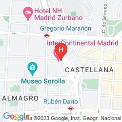 Mapa INTERCONTINENTAL MADRID
