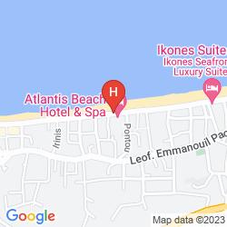 Mapa RETHYMNO MARE ROYAL
