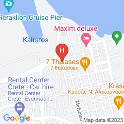 Mapa VILLA KYNTHIA