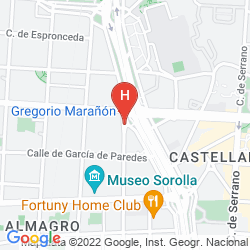 Mapa MIGUEL ANGEL BY BLUEBAY