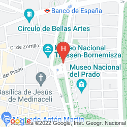 Mapa RITZ MADRID