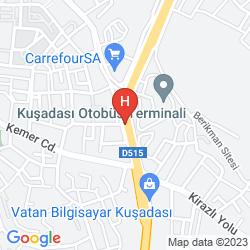 Mapa HAPPY APARTHOTEL