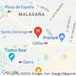Mapa TRYP REX