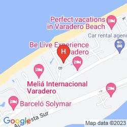 Mapa BE LIVE EXPERIENCE VARADERO