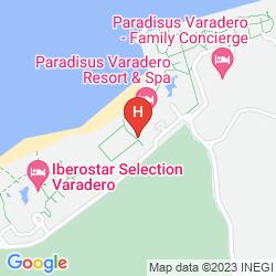 Mapa IBEROSTAR SELECTION VARADERO
