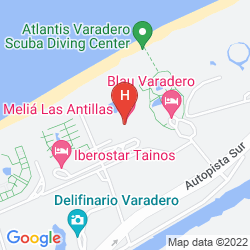 Mapa MELIA LAS ANTILLAS