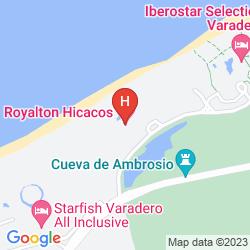 Mapa ROYALTON HICACOS RESORT AND SPA