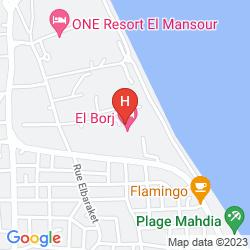 Mapa EL BORJ
