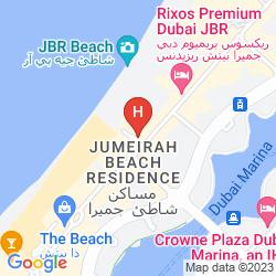 Mapa HILTON DUBAI JUMEIRAH