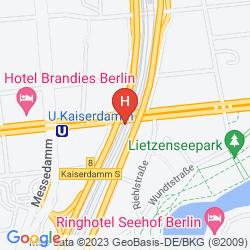 Mapa APART CITY