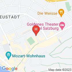 Mapa NH SALZBURG CITY