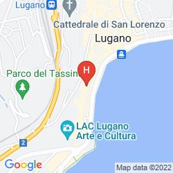 Mapa SPLENDORI SUITE
