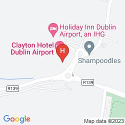 Mapa CLAYTON HOTEL DUBLIN AIRPORT