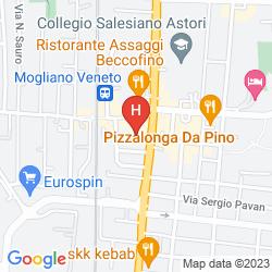 Mapa DUCA D' AOSTA