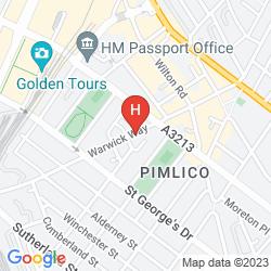 Mapa OYO FLAGSHIP HUTTONS