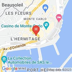Mapa HERMITAGE
