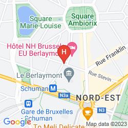 Mapa FIRST EUROFLAT HOTEL