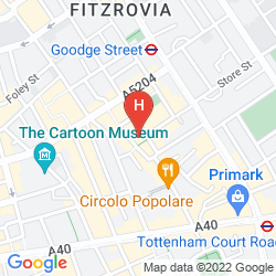 Mapa CHARLOTTE STREET